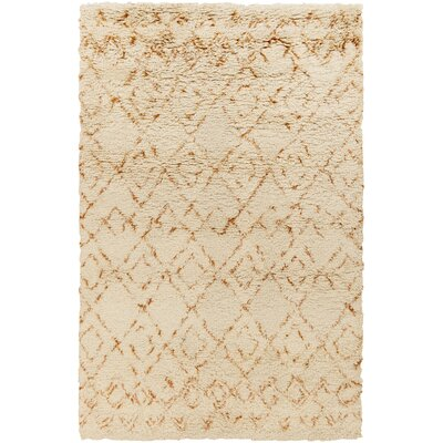 Santos Beige/Rust Area Rug Rug Size: Rectangle 2 x 3