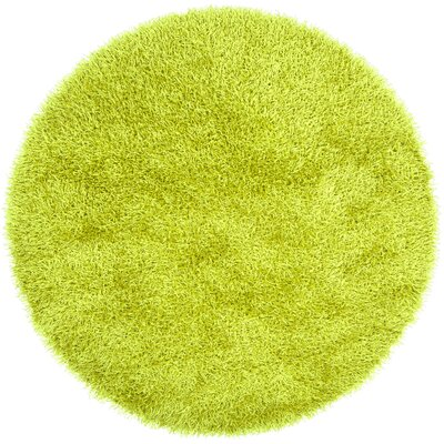 Claredon Lime Area Rug Rug Size: Round 10