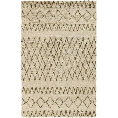 Santos Beige/Olive Area Rug Rug Size: 8 x 10