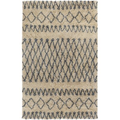 Santos Beige/Slate Area Rug Rug Size: Rectangle 2 x 3