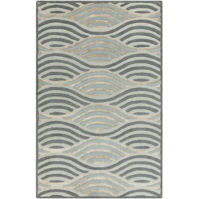 Brendel Slate Geometric Area Rug Rug Size: Rectangle 2 x 3
