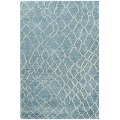 Somers Teal Area Rug Rug Size: 5 x 8