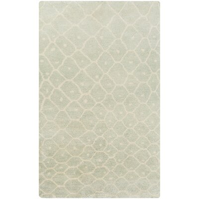Somers Sea Foam Area Rug Rug Size: Rectangle 33 x 53
