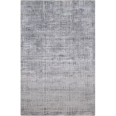 Terrance Slate Geometric Area Rug Rug Size: Rectangle 5 x 8