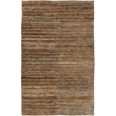 Levi Brown Rug Rug Size: Rectangle 33 x 53