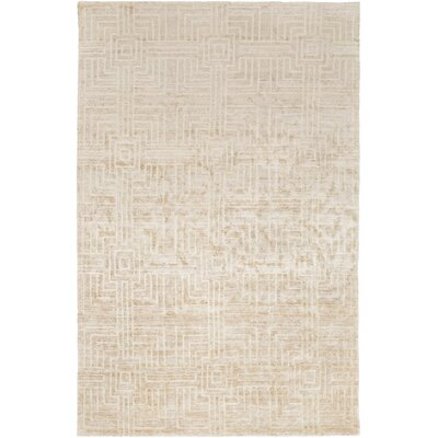 Terrance Beige Geometric Area Rug Rug Size: Rectangle 5 x 8