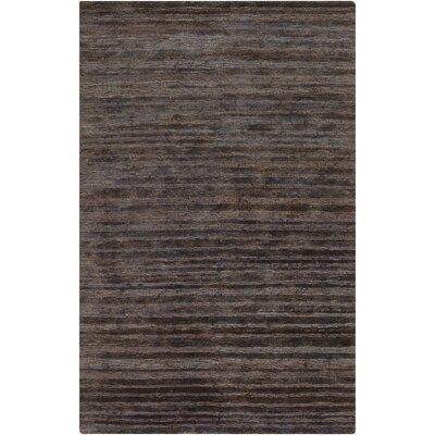 Levi Charcoal Rug Rug Size: 33 x 53