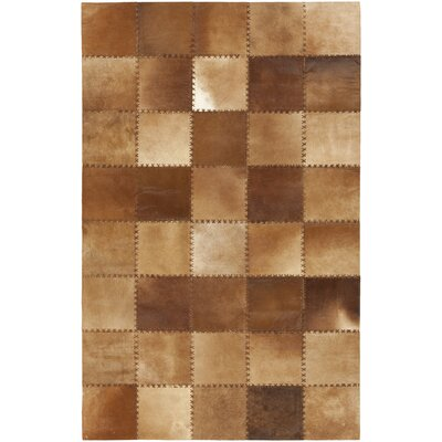Marblehead Hand Woven Mocha Rug Rug Size: Rectangle 5 x 8