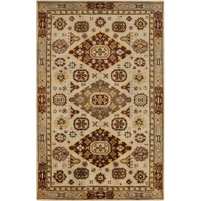 Ponce Brown Southwest Rug Rug Size: 33 x 53