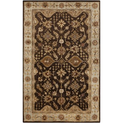 Ponce Black Rug Rug Size: Rectangle 8 x 11