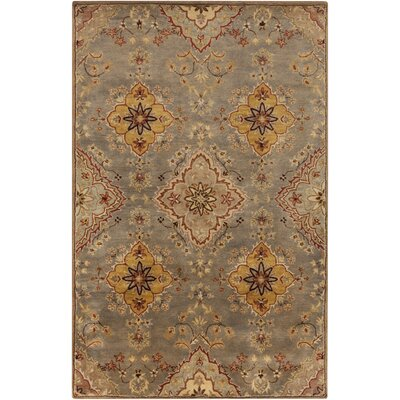Ponce Gold Rug Rug Size: Rectangle 2 x 3