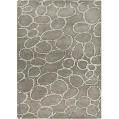 Jeffie Moss Modern Area Rug Rug Size: Rectangle 36 x 56