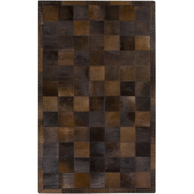 Westmoreland Chocolate Area Rug Rug Size: Rectangle 4 x 6