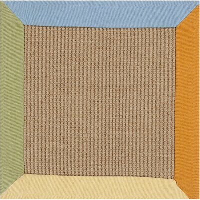 Bertha Light Rug Rug Size: 16 x 16