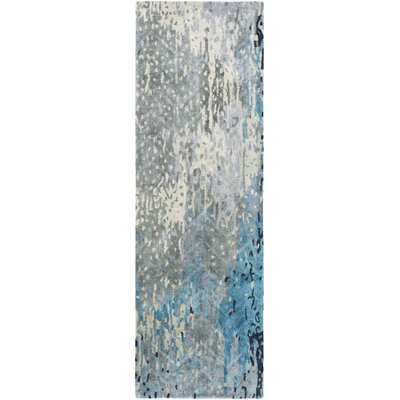 Johnna Handmade Slate Area Rug Rug Size: Rectangle 33 x 53