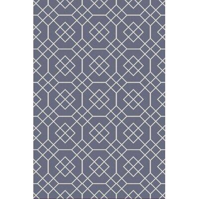 Seabrook Slate Geometric Rug Rug Size: 5' x 7.5'