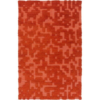 Edmonson Rust Area Rug Rug Size: Rectangle 2 x 3