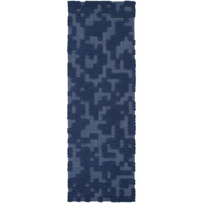 Edmonson Navy Area Rug Rug Size: Rectangle 8 x 11