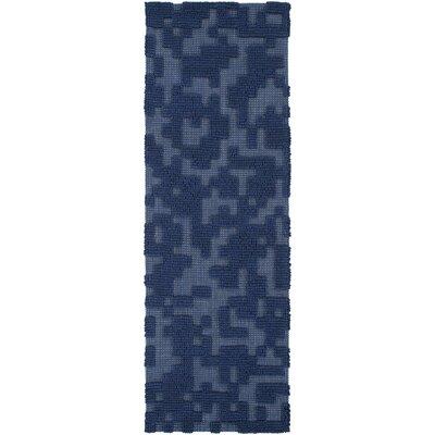 Edmonson Navy Area Rug Rug Size: 8 x 11