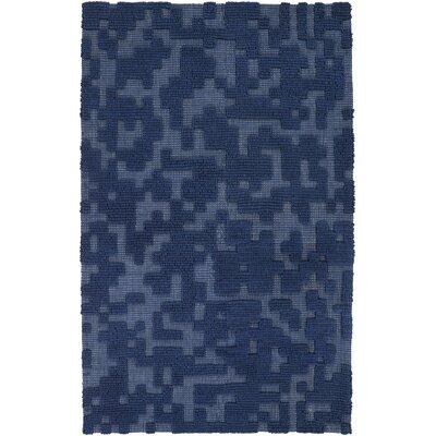 Edmonson Navy Area Rug Rug Size: 5 x 8