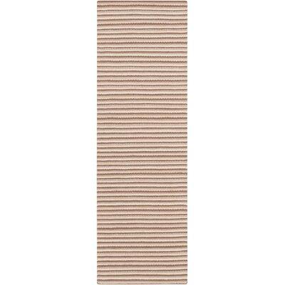 Walton Taupe/Mocha Area Rug Rug Size: Runner 26 x 8