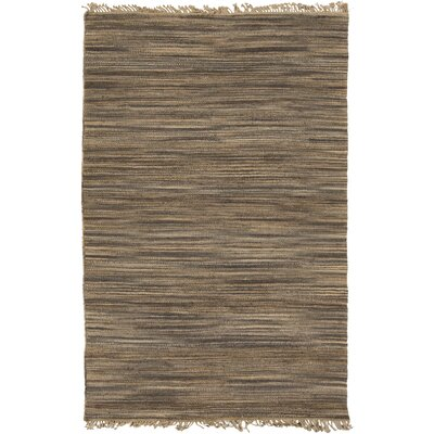 Josie Handmade Brown Area Rug Rug Size: Rectangle 33 x 53