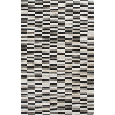 Camilla Black Area Rug Rug Size: Rectangle 5 x 8