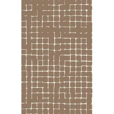 Byers Taupe Area Rug Rug Size: Rectangle 5 x 8