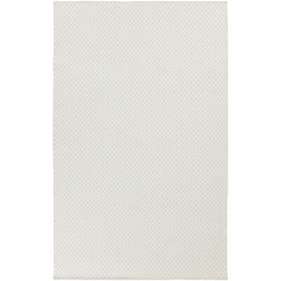Walton Ivory/Sky Blue Area Rug Rug Size: Rectangle 5 x 8