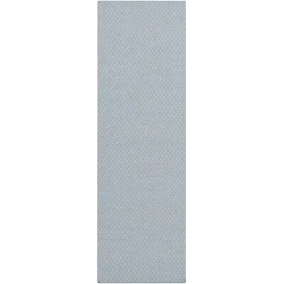 Walton Sky Blue Area Rug Rug Size: Rectangle 33 x 53