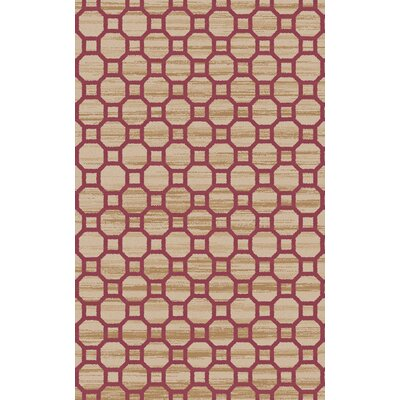Brentford Mocha Area Rug Rug Size: Rectangle 33 x 53