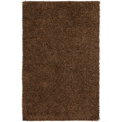Reina Chocolate Area Rug Rug Size: Rectangle 5 x 8
