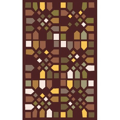 Abrielle Geometric Wool Area Rug Rug Size: Rectangle 5 x 8