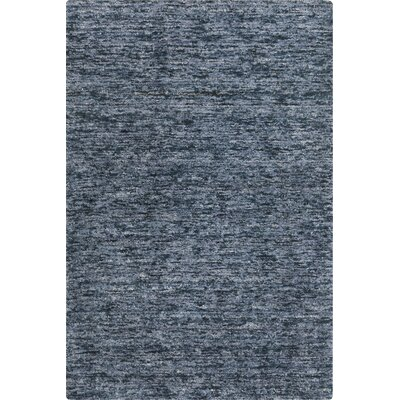 Calabro Hand-Woven Slate Area Rug Rug Size: Rectangle 8 x 11