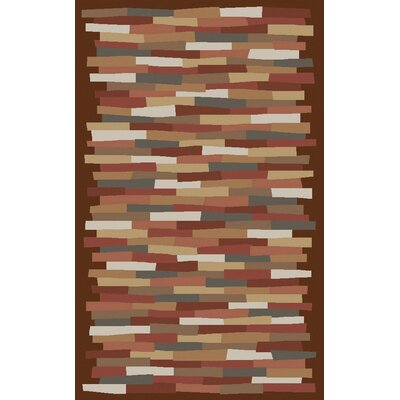 Bowers Brown Area Rug Rug Size: 5 x 8