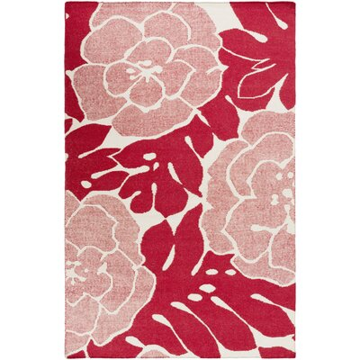 Abigail Cherry Area Rug Rug Size: Rectangle 8 x 11