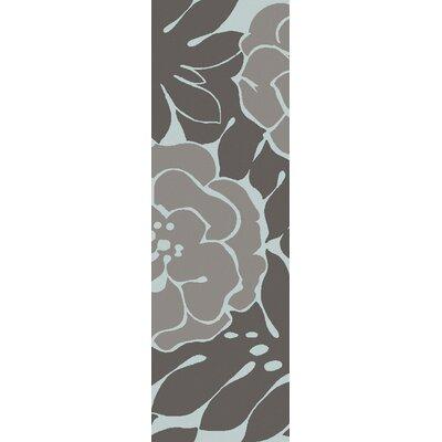Paddington Charcoal/Slate Area Rug Rug Size: Runner 26 x 8