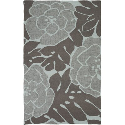 Abigail Charcoal/Slate Area Rug Rug Size: Rectangle 5 x 8