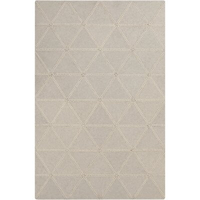 Alexander Hand Woven Wool Ivory Area Rug Rug Size: Rectangle 33 x 53