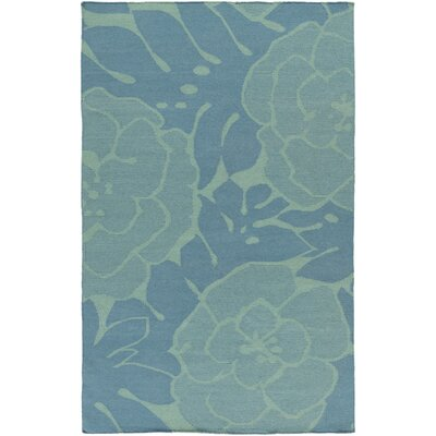 Abigail Teal/Green Area Rug Rug Size: Rectangle 5 x 8