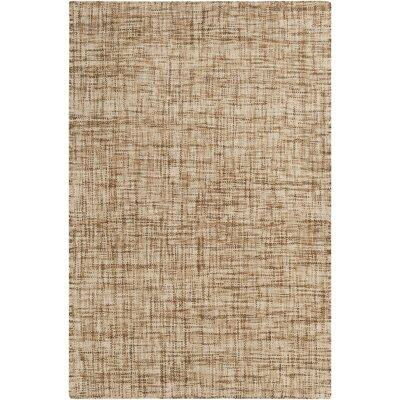 Finleyville Ivory/Taupe Solid Rug Rug Size: Rectangle 33 x 53