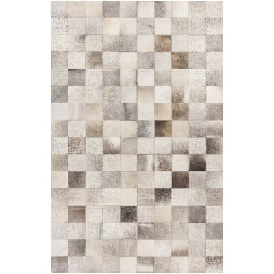 Evandale Gray Area Rug Rug Size: Rectangle 4 x 6