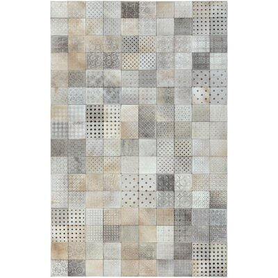 El Centro Light Gray Area Rug Rug Size: Rectangle 4 x 6