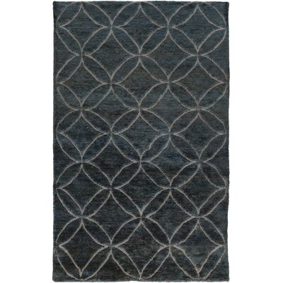 Helston Sky Blue/Moss Area Rug Rug Size: Rectangle 5 x 8