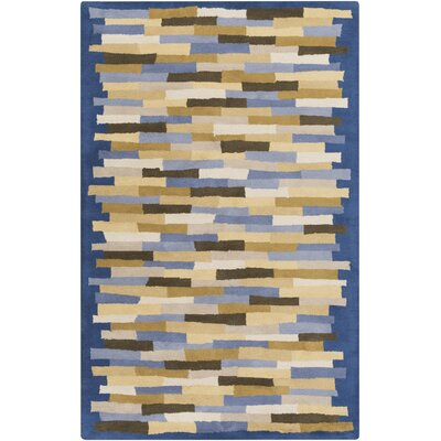 Bowers Blue Area Rug Rug Size: 8 x 11