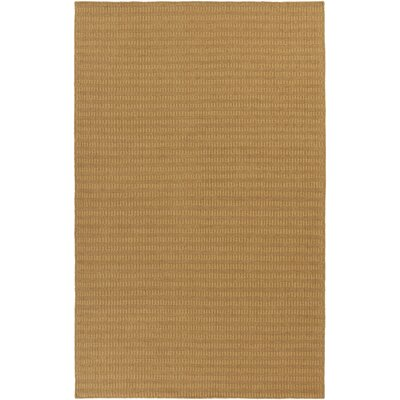 Walton Gold Handwoven Area Rug Rug Size: Rectangle 5 x 8