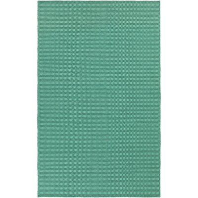 Walton Hand-Woven Wool Green/Aqua Area Rug Rug Size: Rectangle 8 x 11
