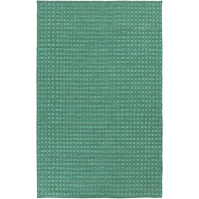 Walton Green & Teal Area Rug Rug Size: Rectangle 8 x 11