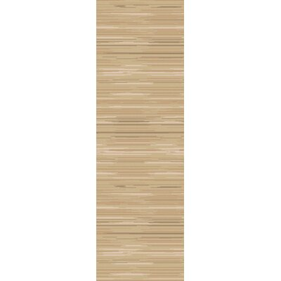Westville Taupe Area Rug Rug Size: Runner 26 x 8