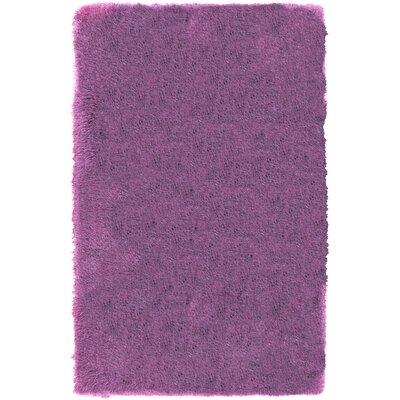 Carlene Hand-Tufted Lavender Area Rug Rug Size: 8 x 10